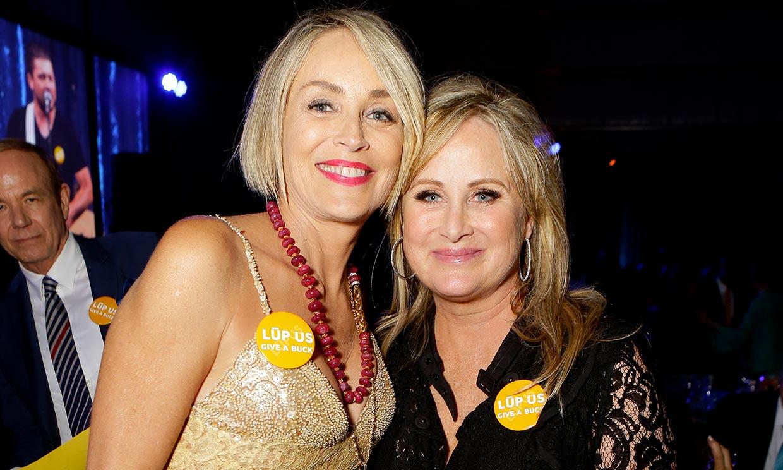 Sharon Stone, muy preocupada por el ingreso de su hermana aquejada de lupus y ahora de Covid-19