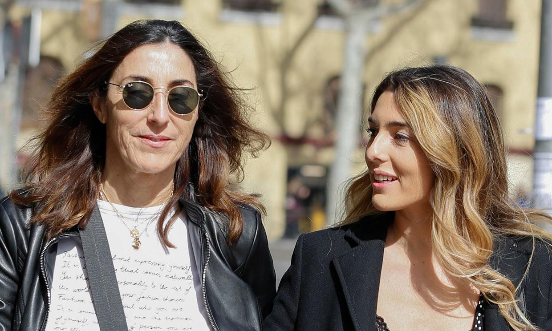Paz Padilla pone tierra de por medio junto a su hija un mes después de fallecer su marido