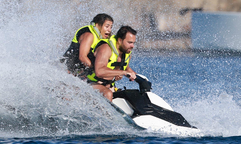 ¡A toda velocidad! Elena Tablada y Javier Ungría, jornada de emociones fuertes en alta mar