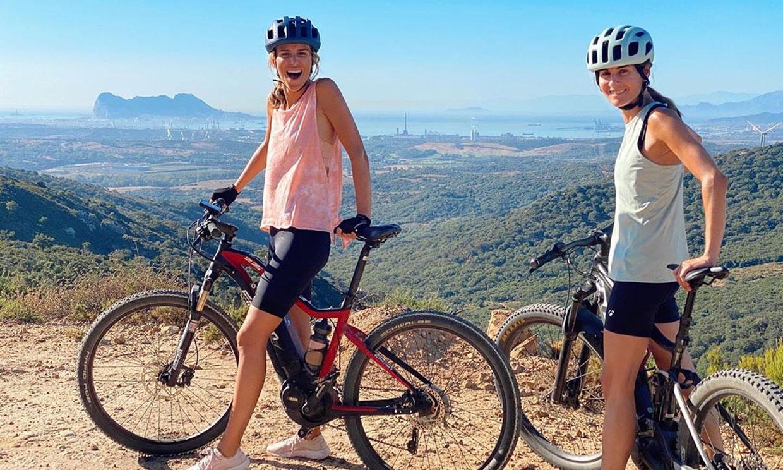 ¿El mejor plan del verano para Laura Vecino? Montar en bici con su gran amiga Rosario Domecq