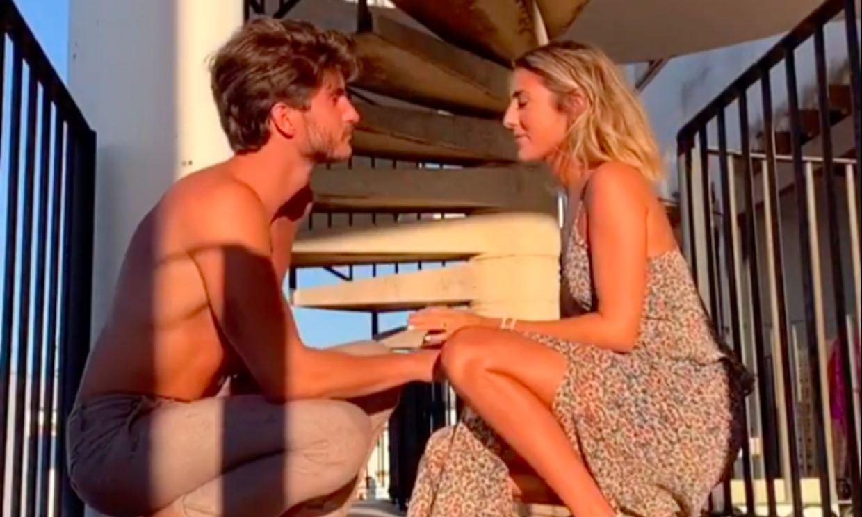 Anna Ferrer y su novio Iván protagonizan una original pedida de mano ¡con un final inesperado!