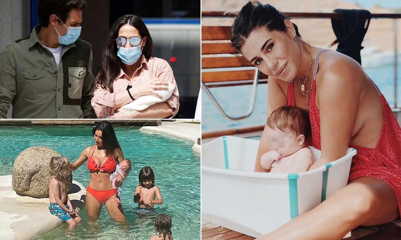 Un verano atípico pero feliz: las 'celebrities' que pasan las vacaciones con un nuevo miembro en la familia