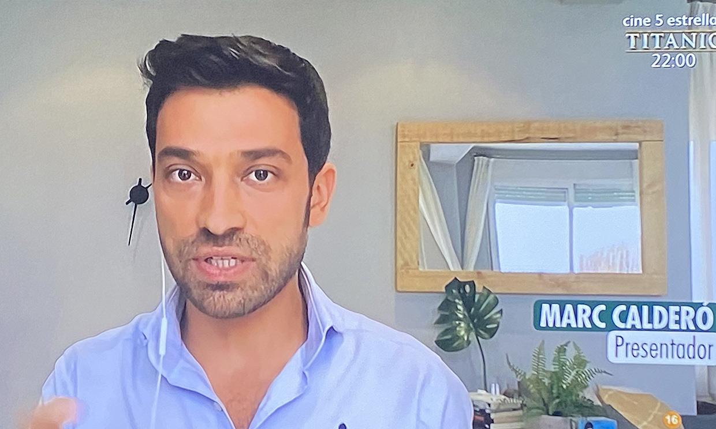 Marc Calderó vuelve a 'Ya es mediodía' ¡sin salir de casa!