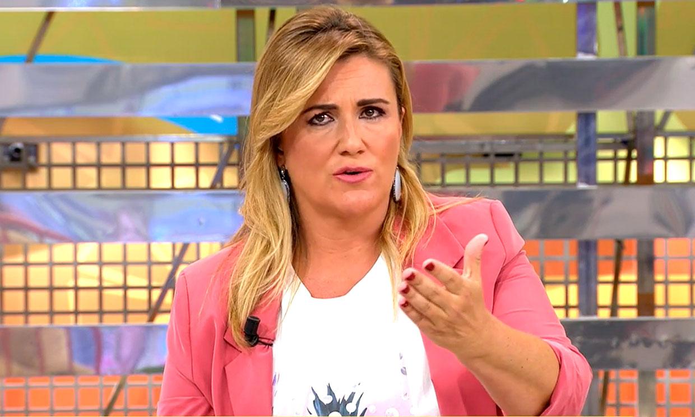 Carlota Corredera regresa a 'Sálvame' tras su aislamiento preventivo