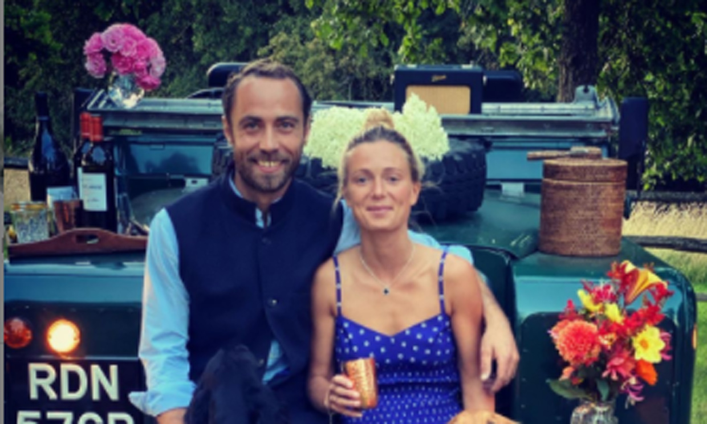 James Middleton sorprende a su prometida con un romántico (aunque multitudinario) pícnic