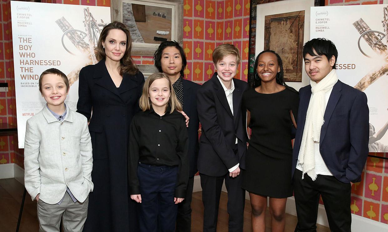 Angelina Jolie se plantea mudarse a Londres con sus hijos en medio de su batalla legal con Brad Pitt