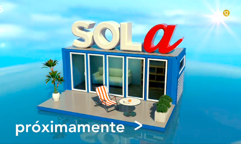 Primera imagen de la casa del nuevo 'reality', Solo/Sola