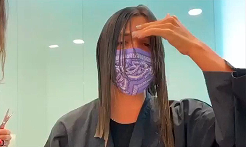 El cambio de 'look' de Laura M. Flores: 'Nunca me he cortado el pelo tan corto'