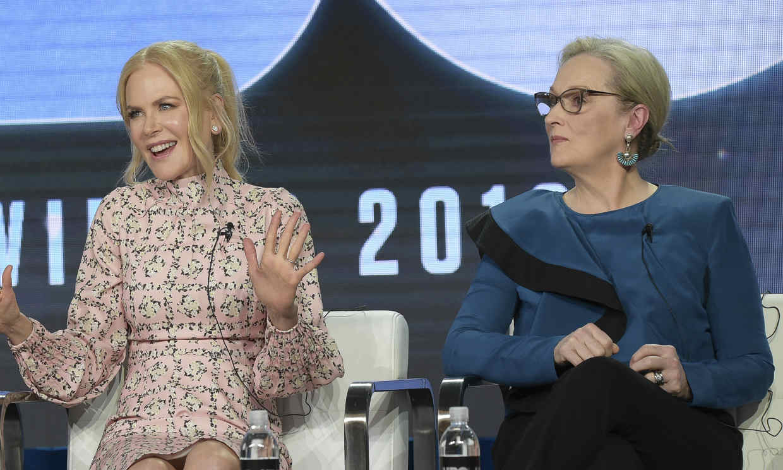 Ya puedes ver la primera imagen de Nicole Kidman y Meryl Streep en 'The Prom'
