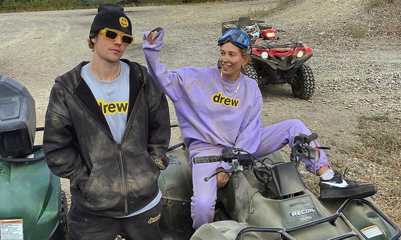 ¡Todo diversión! Día de 'quads' y suciedad con Justin y Hailey Bieber