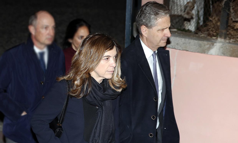 Xandra Falcó, desolada por el inesperado fallecimiento de su marido Jaime Carvajal Hoyos