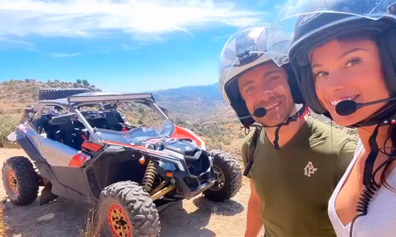 ¡A toda velocidad! Sonia Ferrer y Pablo Nieto, una relación que marcha sobre ruedas