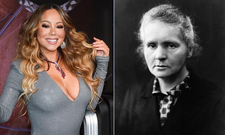¿Qué tienen en común Mariah Carey y Marie Curie? La cantante lo tiene muy claro