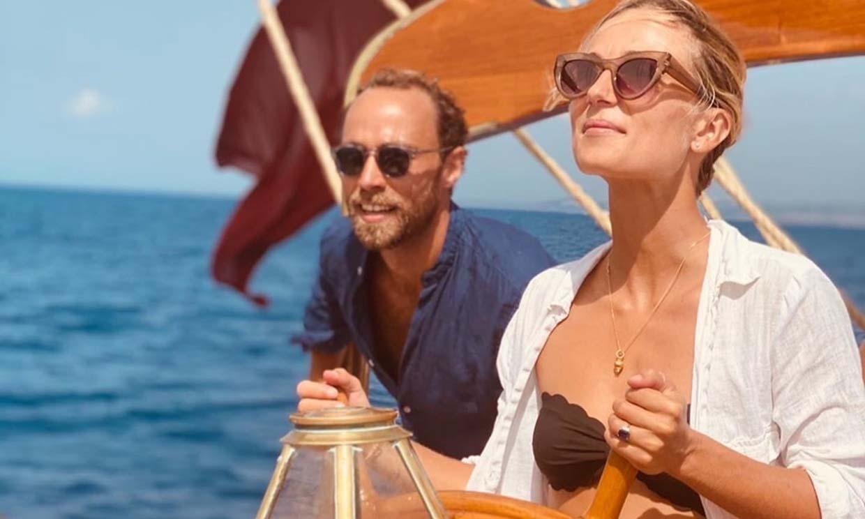 James Middleton y Alizee Thevenet celebran con un espectacular viaje el aniversario de su compromiso