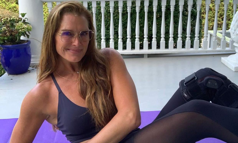 El duro entrenamiento de Brooke Shields a sus 55 años que se ha convertido en una inspiración