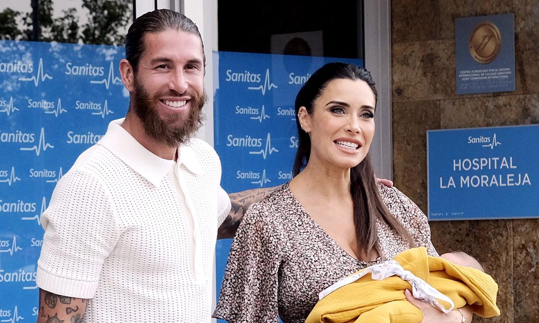 Pilar Rubio presume de su hijo Máximo Adriano... ¿es el que más se parece a ella?