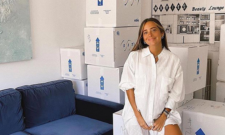 De mudanza y a punto de ser mamá: Maria F. Rubíes comienza una nueva etapa