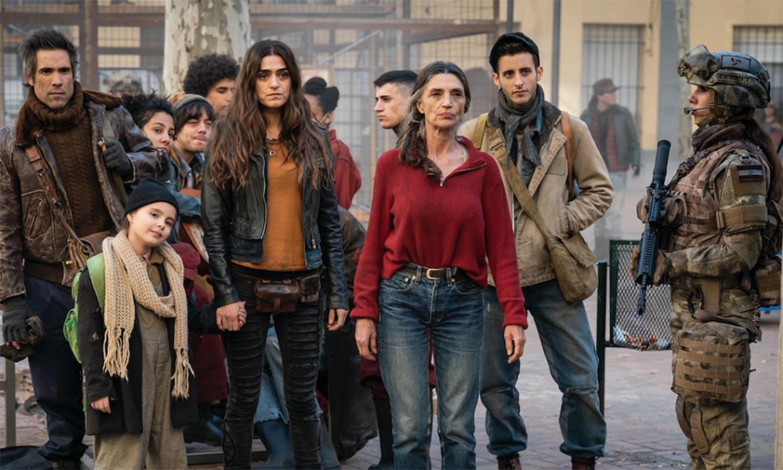 Un futuro apocalíptico llega con el estreno de 'La Valla', la serie de Ángela y Olivia Molina