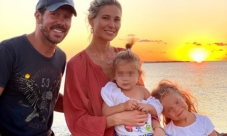 Carla Pereyra cuenta cómo se encuentra la familia tras el positivo en coronavirus de Simeone
