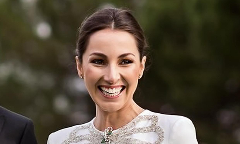 Primicia: Alejandra Romero, duquesa de Suárez, da a luz a su primera hija