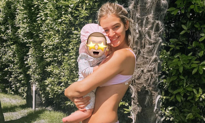 ¡Roma ya gatea! Laura Escanes aprovecha los últimos momentos del verano con su hija al aire libre
