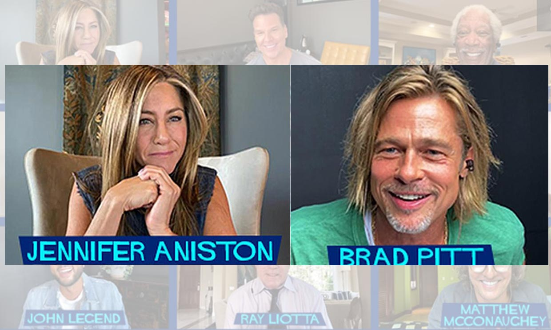 El Brad Pitt de 'Leyendas de pasión' se reencuentra con Jennifer Aniston