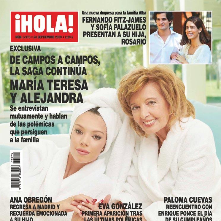 """La suculenta exclusiva de Alejandra Rubio con su abuela en """"Hola"""". Ni el caché de Belén Esteban 10"""