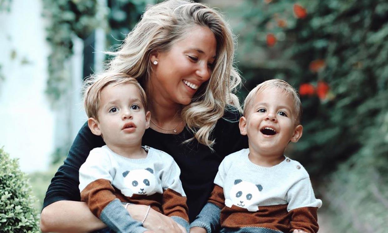 La simpática reacción de los hijos de Alice Campello y Álvaro Morata tras su primer día de colegio