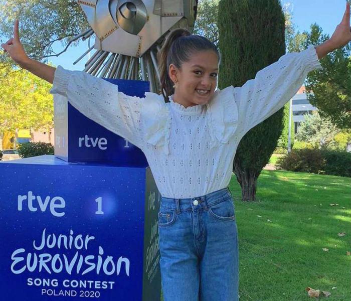 Soleá, representante de Eurovisión Junior 2020