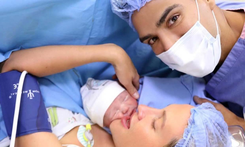 El futbolista Falcao y su mujer, Lorelei Tarón, se convierten en padres de su primer niño