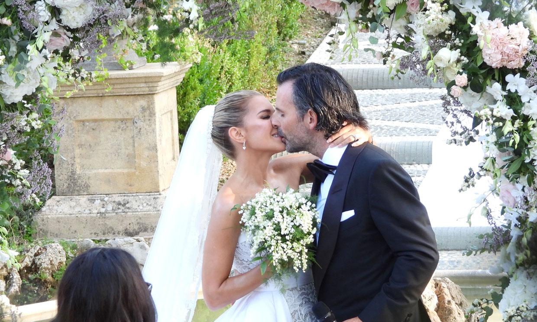 Las primeras imágenes de la boda de ensueño de Sylvie Meis y Niclas Castello
