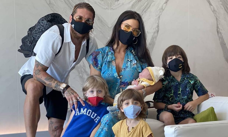Pilar Rubio, Hilaria Baldwin, Jude Law..., celebrities que han formado una 'gran familia'