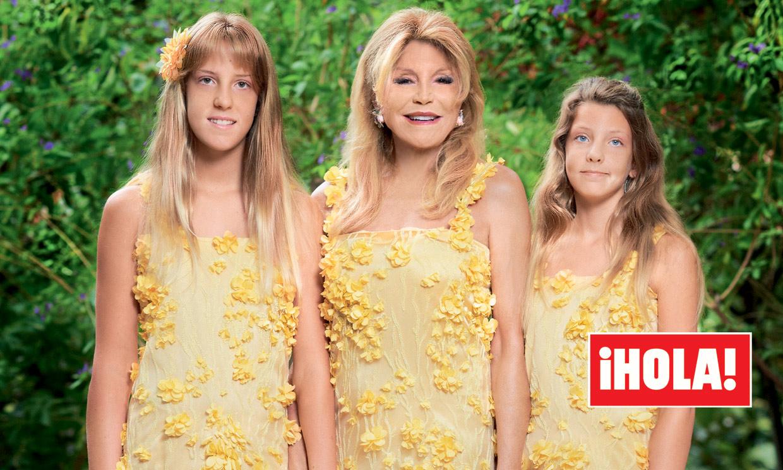 FOTOGALERÍA: Así hemos visto crecer a las hijas de la Baronesa Thyssen, que ya tienen 14 años