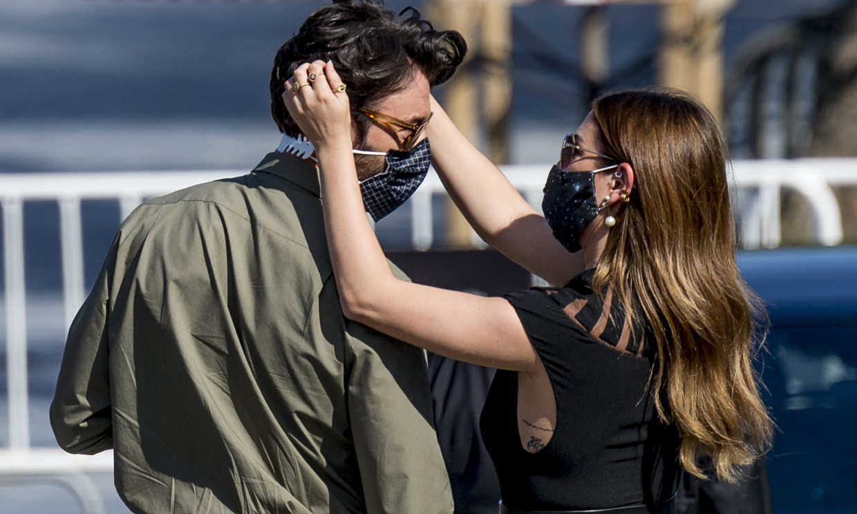 Blanca Suárez y Javier Rey, amor y trabajo en San Sebastián