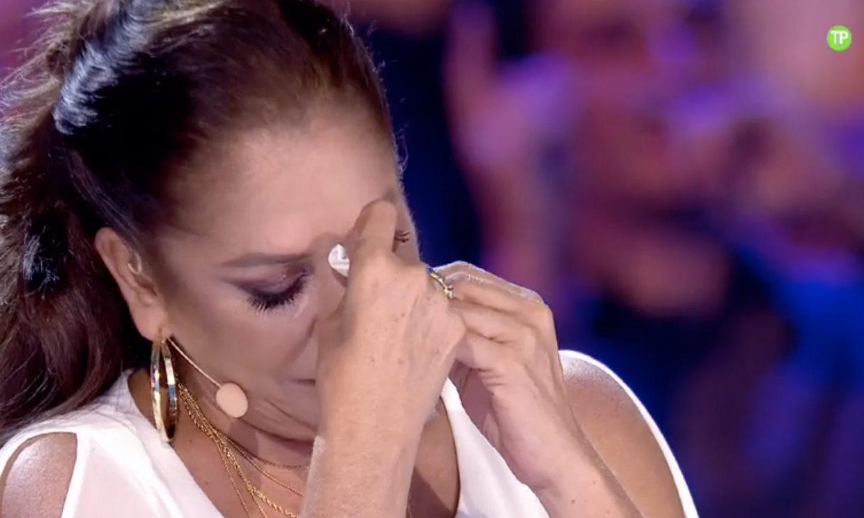 Isabel Pantoja, muy emocionada al recordar a Rocío Jurado