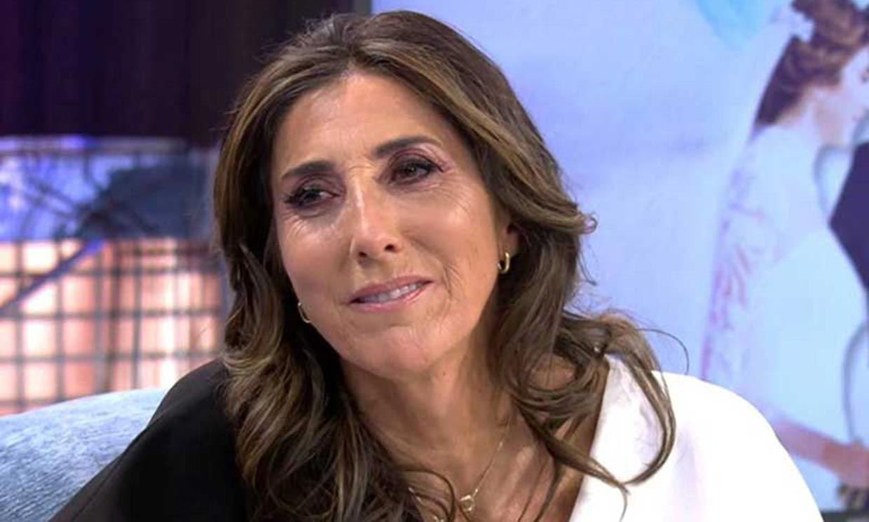 Paz Padilla revela el percance que sufrió tras la muerte de su marido