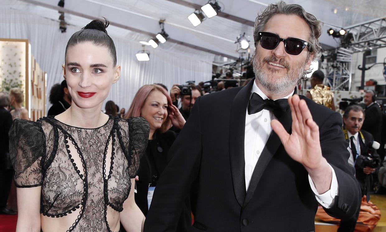 Joaquin Phoenix y Rooney Mara ya han sido padres y el nombre que han elegido para el bebé te enamorará