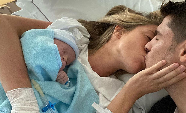 ¡Bienvenido al mundo! Alice Campello y Álvaro Morata, padres de su tercer hijo
