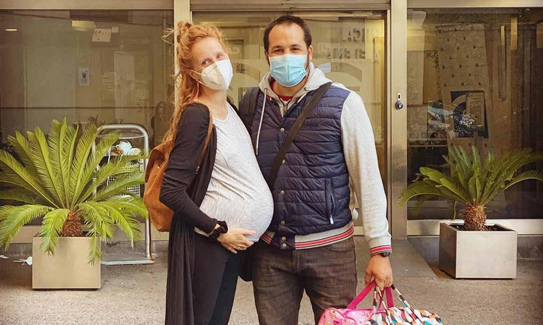 María Castro, a punto de ser mamá por segunda vez