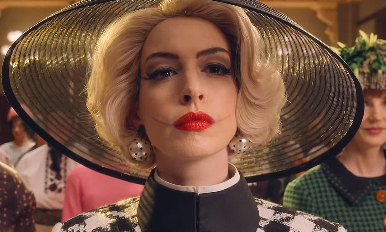 Anne Hathaway se deshace de su imagen de niña buena y te sorprenderá convertida en una 'gran bruja'
