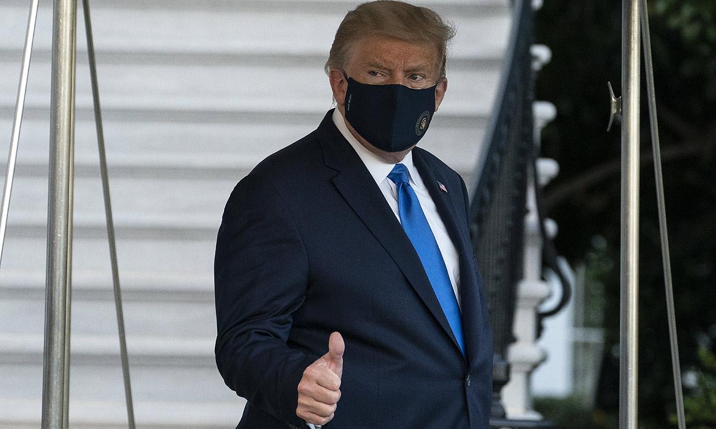 Donald Trump ingresa en un hospital militar tras dar positivo en coronavirus
