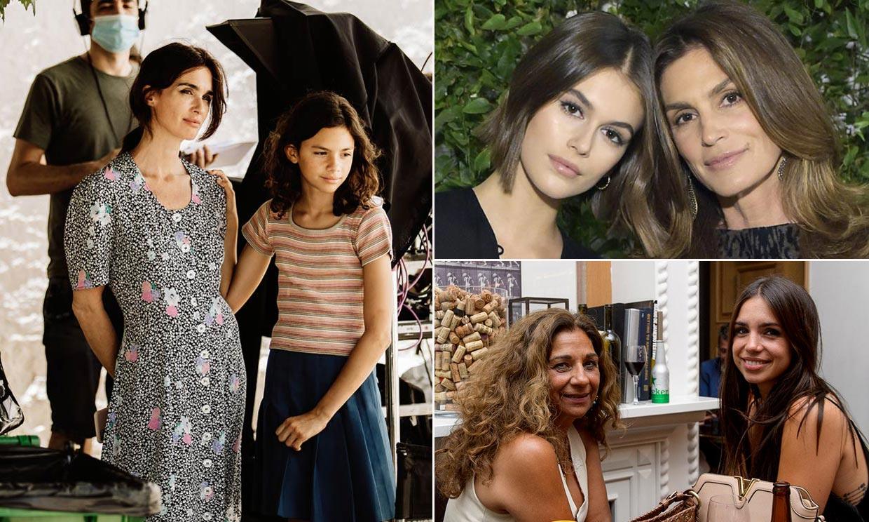 Paz Vega, Cindy Crawford y otras 'celebrities' que ya tienen sucesoras en sus propias hijas