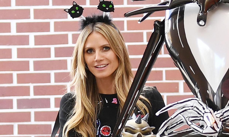 Heidi Klum calienta motores para Halloween con una divertida transformación