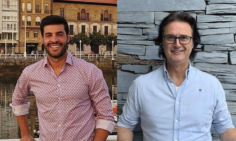 Poty Castillo y Miguel Torres, unidos por Paula Echevarría...¡y las bicicletas!