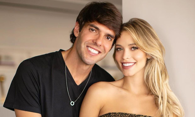 Kaká muestra orgulloso las primeras fotos de su hija recién nacida