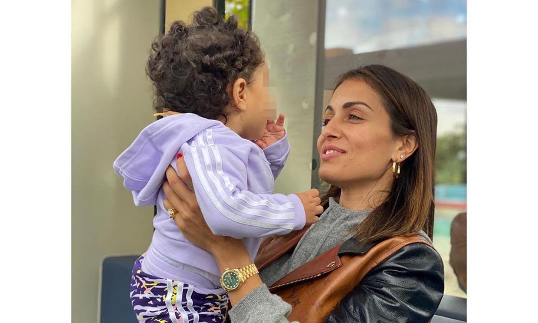 Hiba Abouk celebra 'los mejores ocho meses' de su vida