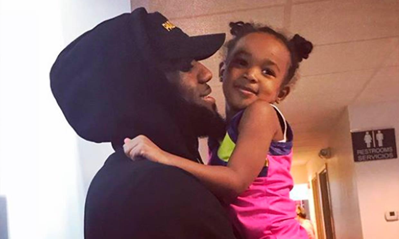 El impresionante regalo de LeBron James a su hija de cinco años: una mansión en miniatura