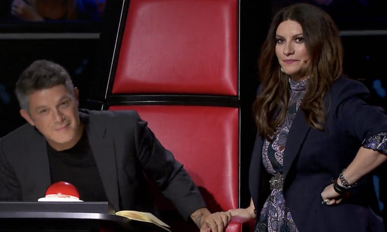 Laura Pausini se enfada con Alejandro Sanz tras un bloqueo