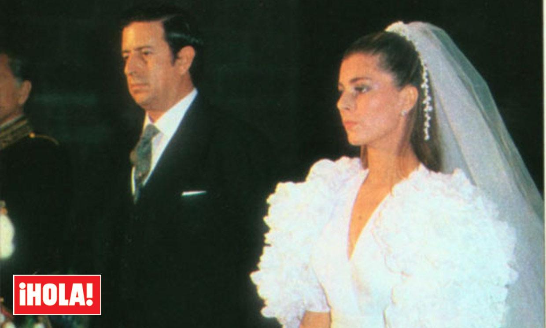 Marta Chávarri y Esther Koplowitz, las dos sonadas bodas del marqués de Cubas