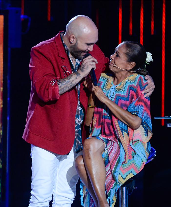 Isabel Pantoja y Kiko Rivera